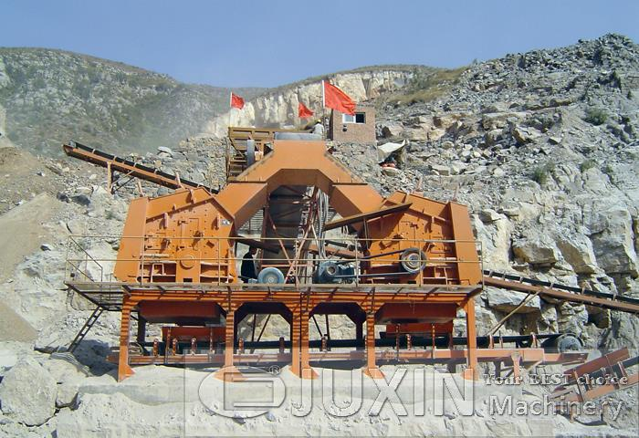 100-150t/h Stone Making Production Line