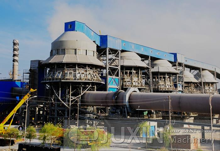 Active lime production plant